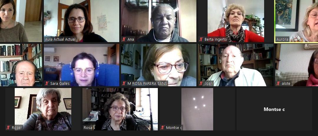 Fins l'any vinent, el taller on-line d'entrenament mental per a gent gran